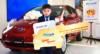 """""""Витамин ₮"""" хөтөлбөрийн супер шагналын эхний эзнээр 8 настай Г.Бартанбаатар тодорч, Nissan Leaf автомашинаа гардан авлаа"""